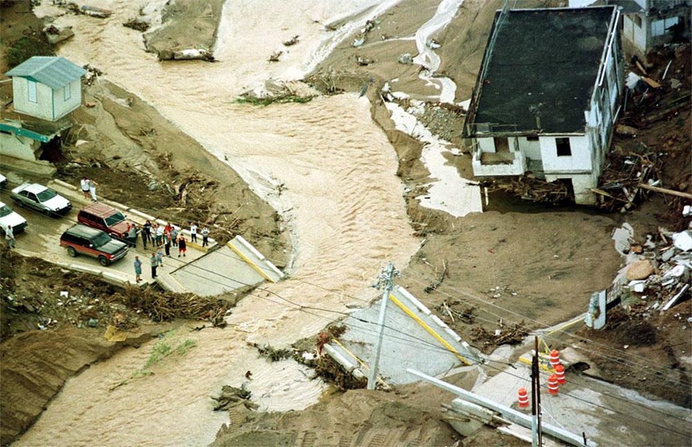 Inundaciones ocurridas por el azote del Huracán Georges (1998) en Puerto Rico
