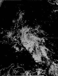 satélite de la onda tropical (7 de octubre de 1985)